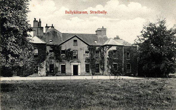 1680s &#8211; Ballykilcavan House, Stradbally, Co. Laois