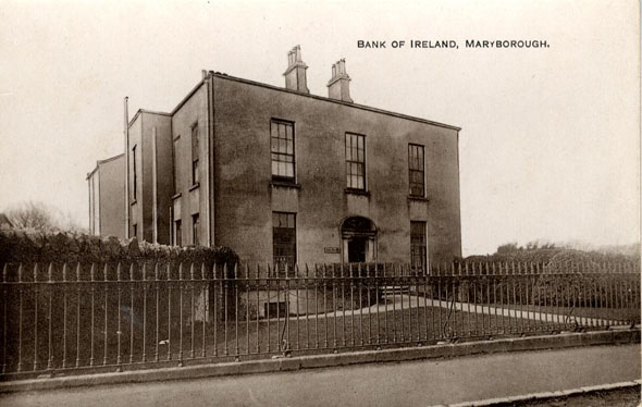 1850 &#8211; Former Bank of Ireland, Church St., Portlaoise, Co. Laois