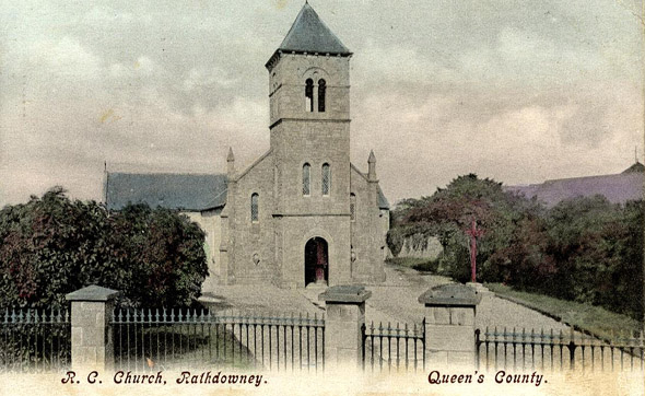 1830s &#8211; Church, Rathdowney, Co. Laois