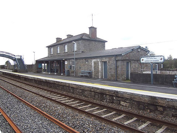 1862 &#8211; Railway Station, Carrick-on-Shannon, Co. Leitrim