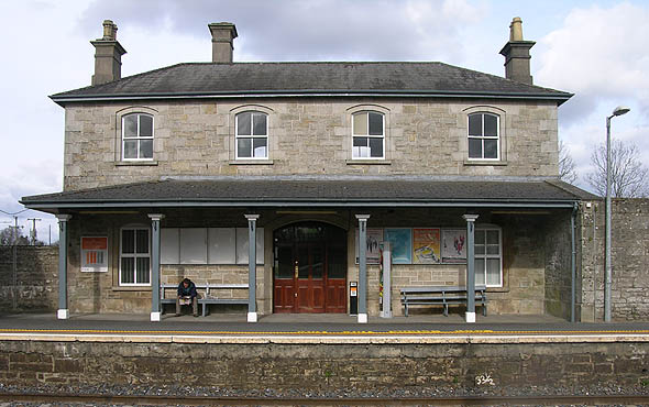1862 &#8211; Dublin-Sligo Railway Station, Dromod, Co. Leitrim
