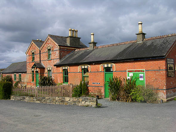 1887 &#8211; Cavan &#038; Leitrim Railway Station, Dromod, Co. Leitrim