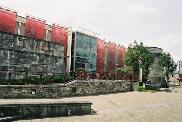 1989 – King John's Castle Visitor Centre, Limerick