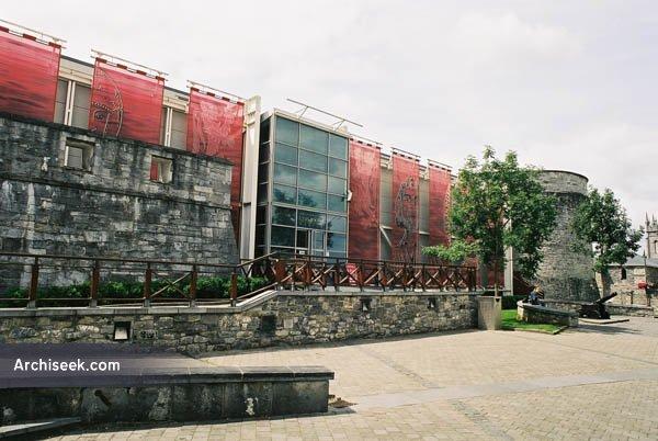 1989 – King John's Castle Visitor Centre, Limerick