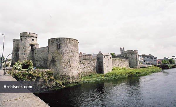 1210 – King John's Castle, Limerick