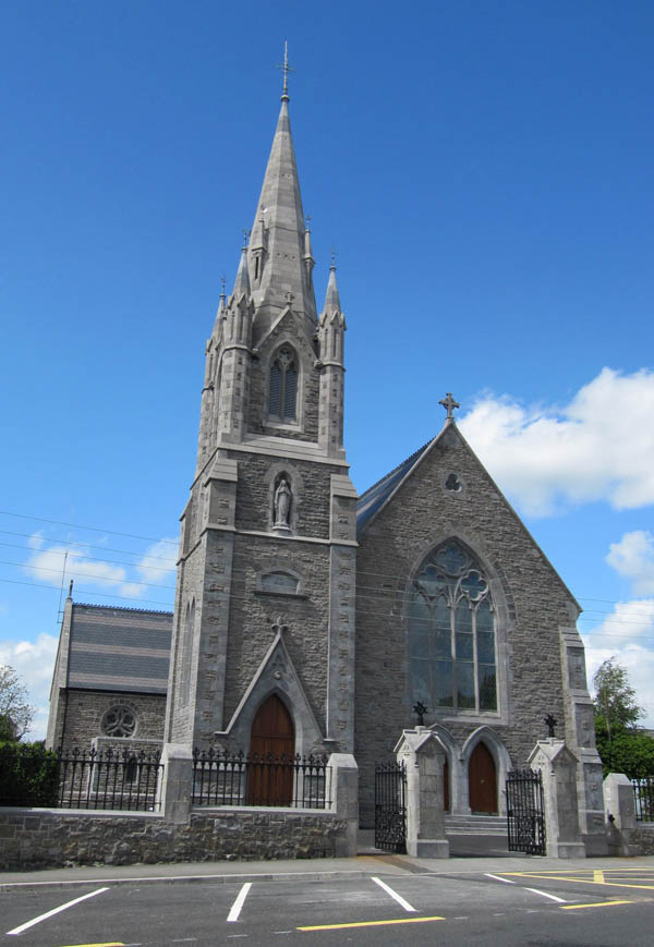 1872 &#8211; St Mary&#8217;s Church, Edgeworthstown, Co. Longford