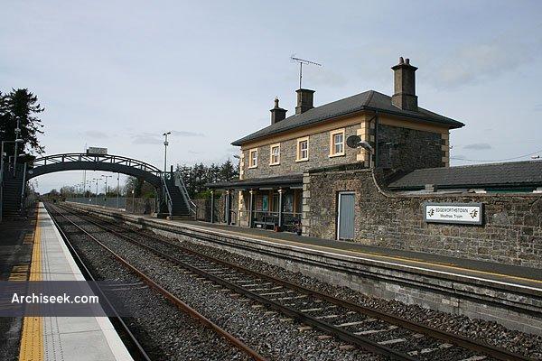 1855 – Railway Station, Edgeworthstown, Co. Longford