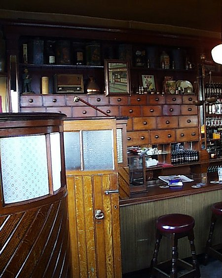 1890s &#8211; Clarke&#8217;s Bar, Drogheda, Co. Louth