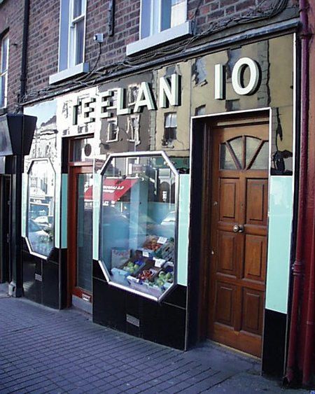1950s &#8211; Teelan&#8217;s Shop, Drogheda, Co. Louth