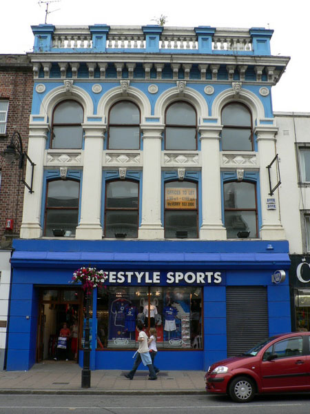 1858 – No.70 Clanbrassil Street, Dundalk, Co. Louth