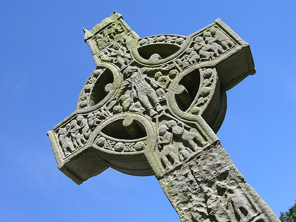 Ancient art in high crosses
