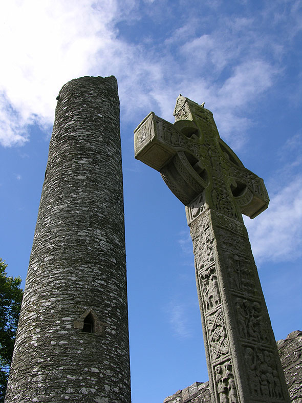 980c – Round Tower, Monasterboice, Co. Louth