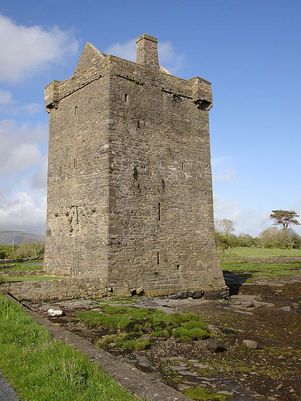 1550c &#8211; Rockfleet Castle, Newport, Co. Mayo