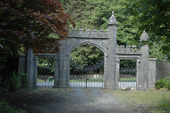 1812 &#8211; Castle Leslie Gothic Gateway, Glaslough, Co. Monaghan