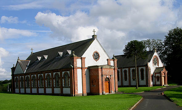 1900 &#8211; Churches, St. Davnet&#8217;s Hospital, Monaghan, Co. Monaghan