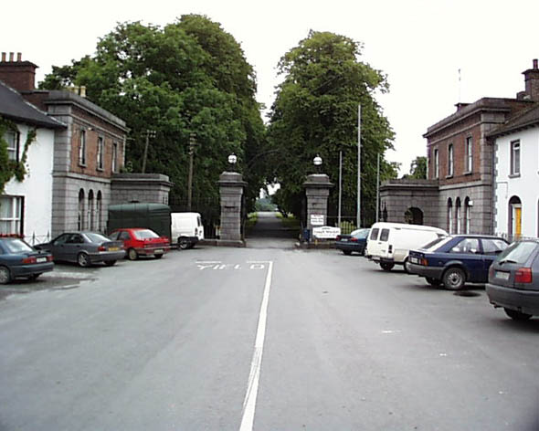 Gates, Hope Castle, Castleblayney, Co. Monaghan