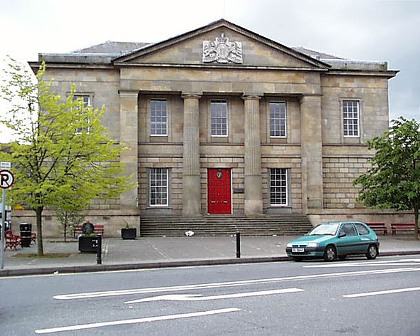 1829 &#8211; Courthouse, Monaghan, Co. Monaghan