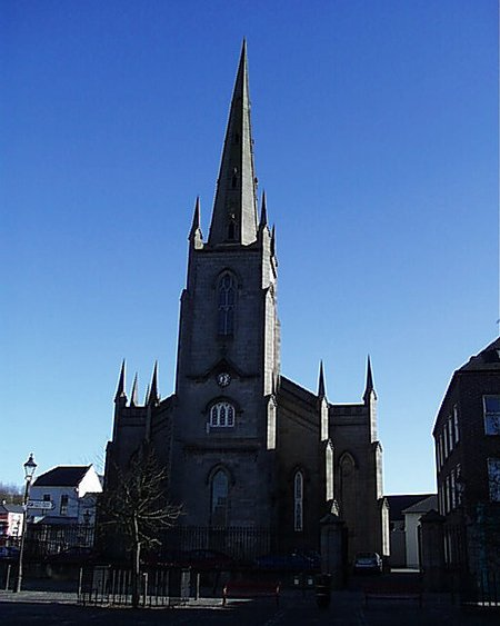 1836 &#8211; St Patrick&#8217;s Church of Ireland, Monaghan, Co. Monaghan