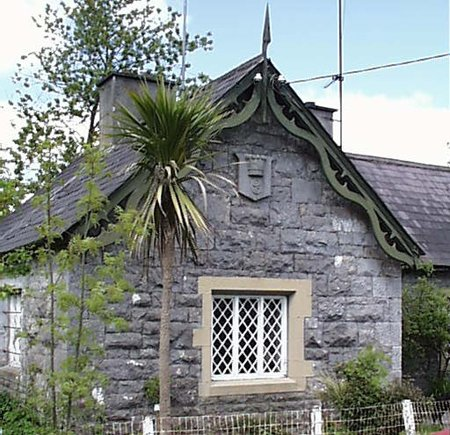 1860 &#8211; Gate house, Charleville Forest, Tullamore, Co. Offaly