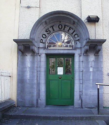 1909 &#8211; Post Office, Tullamore, Co. Offaly