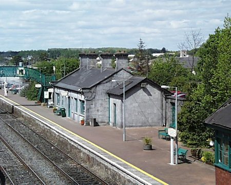 1855 – Railway Station, Tullamore, Co. Offaly
