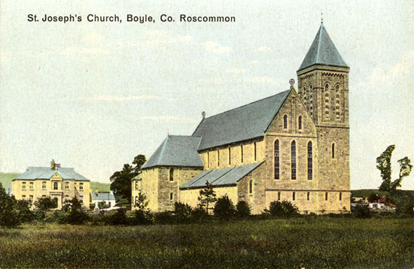1882 &#8211; St. Joseph&#8217;s Church, Boyle, Co. Roscommon