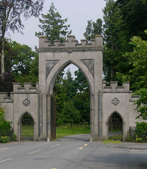 Gate, Strokestown Park, Co. Roscommon