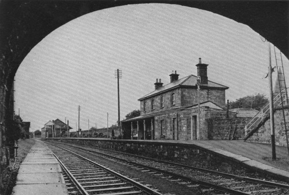1862 &#8211; Railway Station, Ballymote, Co. Sligo