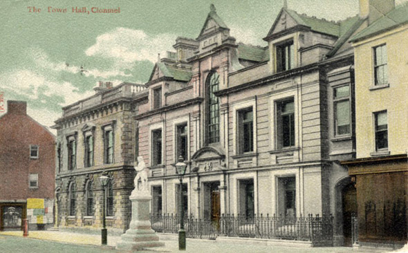 1881 &#8211; Town Hall, Clonmel, Co. Tipperary