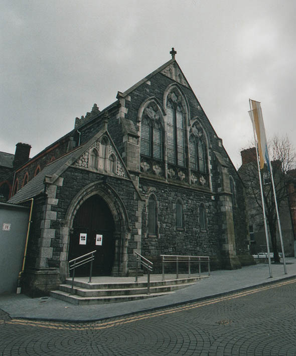 1885 &#8211; Former Greyfriar&#8217;s Church, Waterford