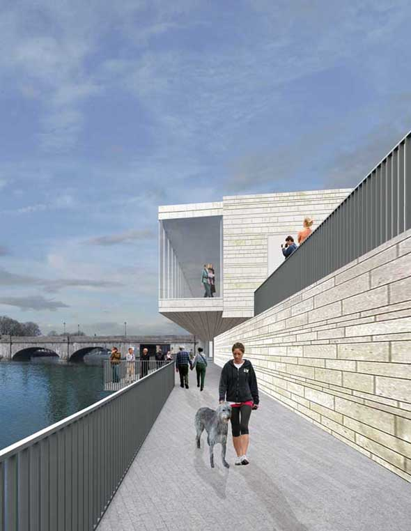 Keith Williams' Athlone Art Gallery Starts Construction