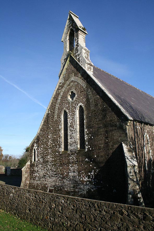 1862 – St. James' Church, Foulkesmill, Co. Wexford
