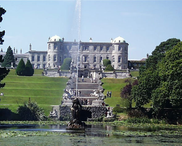 1740 &#8211; Powerscourt House, Co. Wicklow