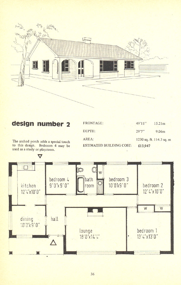 The irish bungalow book archiseek irish architecture for Bungalow house plans ireland
