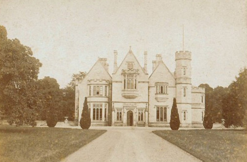 1840s &#8211; Dunleckney Manor, Bagenalstown, Co. Carlow