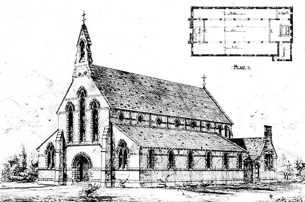 1869 &#8211; Ballyhooley Catholic Church, Mallow, Co. Cork