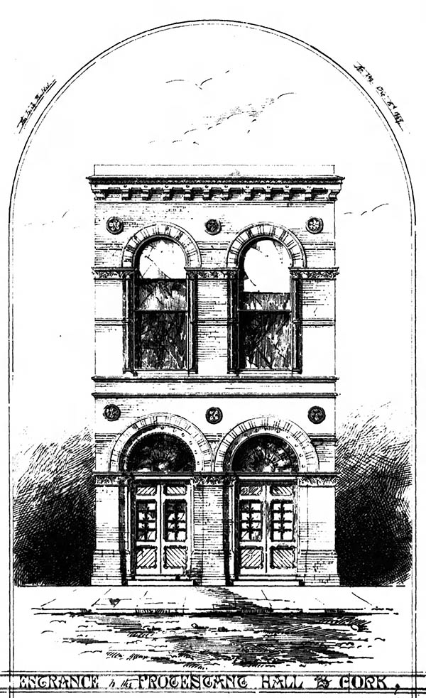 1860 &#8211; The Assembly Rooms, South Mall, Cork