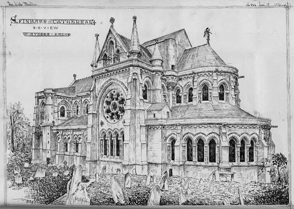1879 &#8211; St Finn Barre&#8217;s Cathedral, Cork