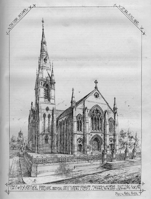 1867 &#8211; Saint Patrick&#8217;s Church, Fermoy, Co. Cork