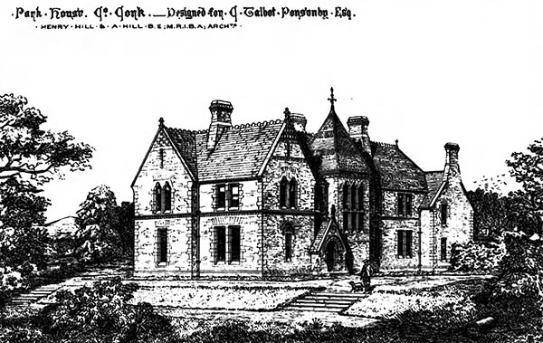 1869 – Park House, Co. Cork