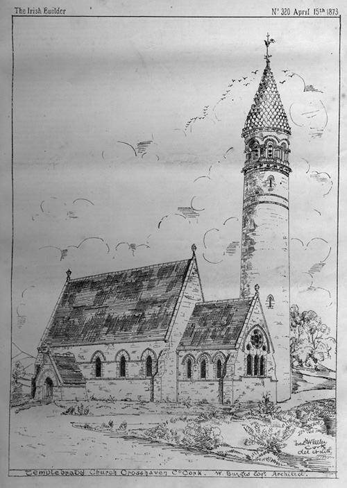1873 &#8211; Holy Trinity Church, Crosshaven, Co. Cork