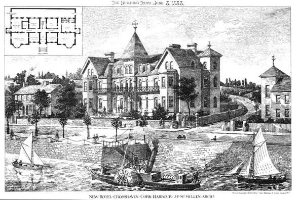 1888 – New Hotel, Crosshaven, Co. Cork