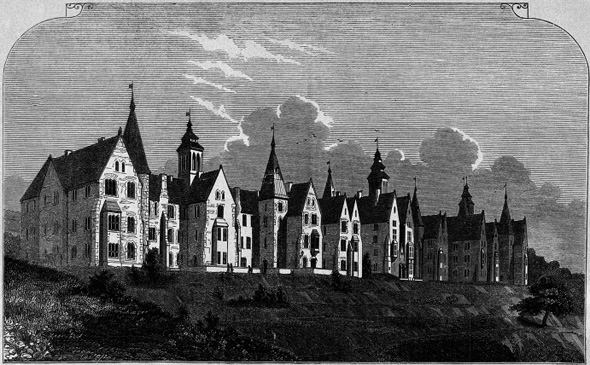 1847 &#8211; The Eglinton Lunatic Asylum, Cork
