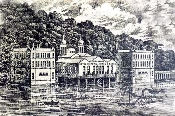 1858  – Royal Victoria Hotel & Baths, Glenbrook, Co. Cork