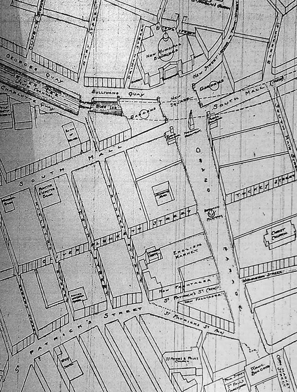 1922 – Urban renewal proposal for Cork city