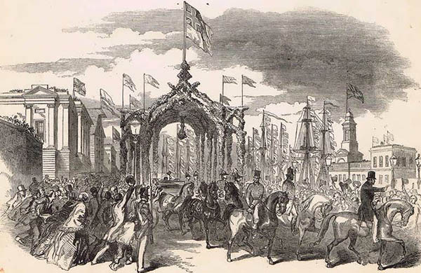 1849 – Royal Triumphal Archway, Anglesea Bridge, Cork