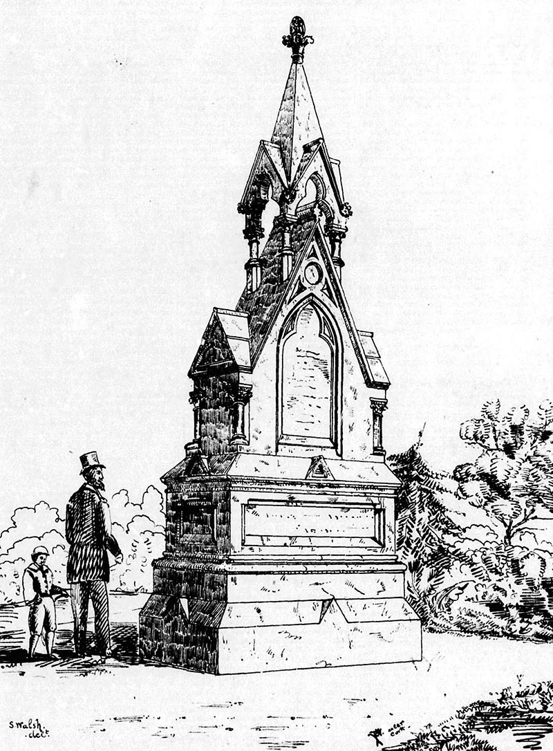 1873 – Hickman Monument, Cork, Co. Cork