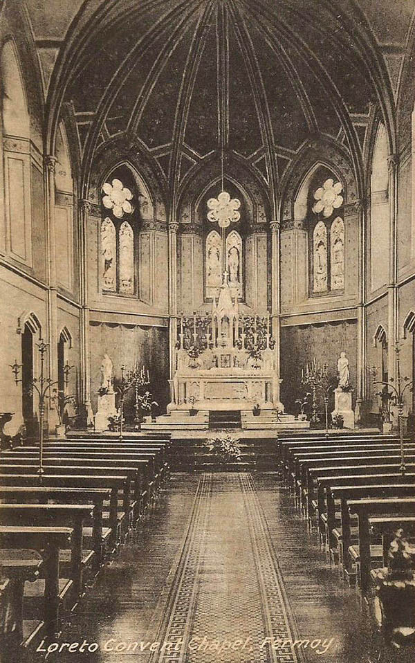 1870 –  Chapel, Loreto Convent, Fermoy, Co. Cork