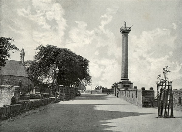 1828 – Governor Walker's Monument, Derry