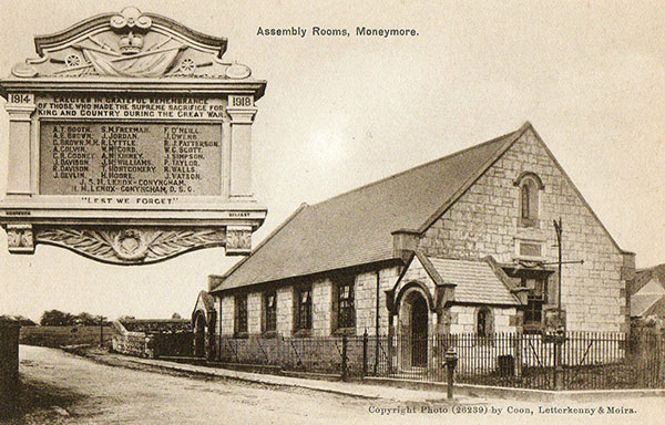 1846 –  Assembly Rooms, Moneymore, Co. Derry